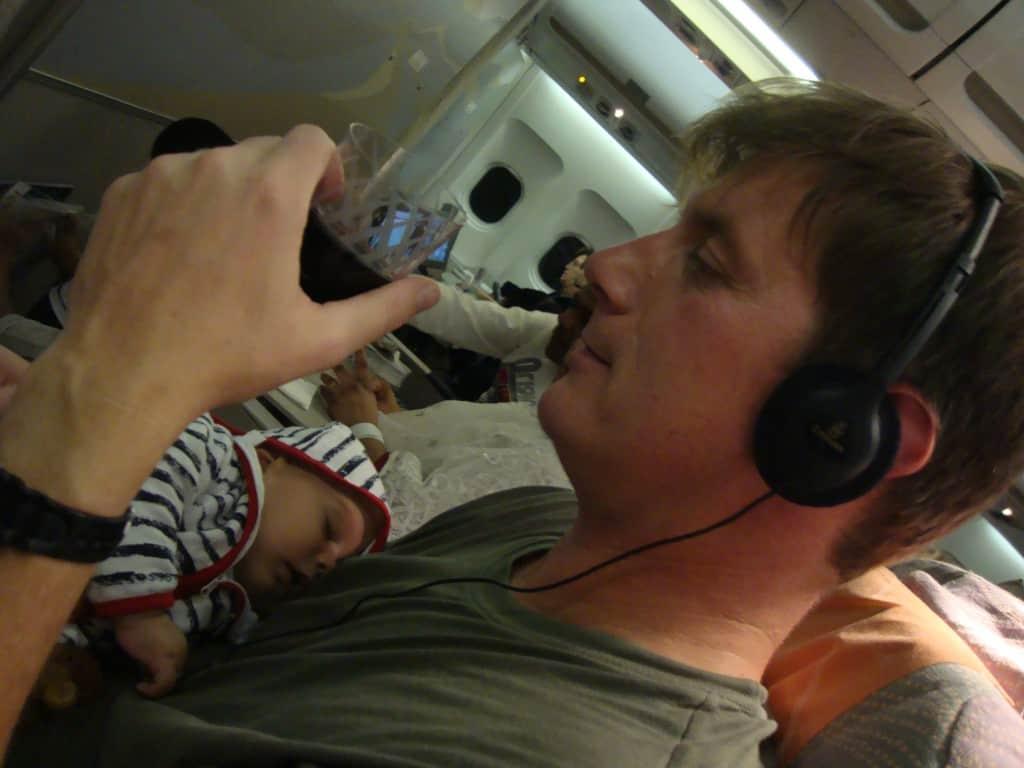Let z dojenčkom je lahko precej easy:)