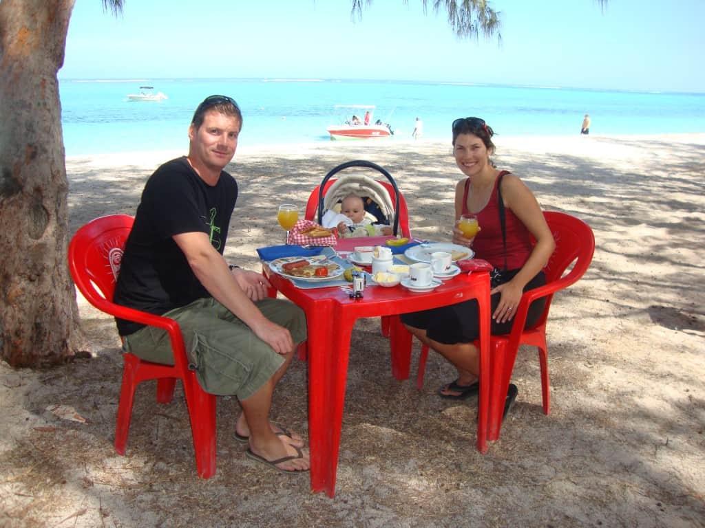 Kosilo na plaži