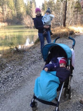 Poziranje ob jezeru z mulcoma