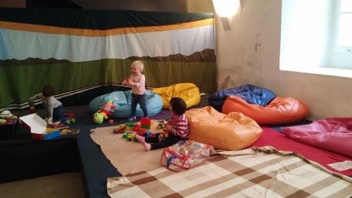 Igralnica za malčke v Vitrinjskem dvoru