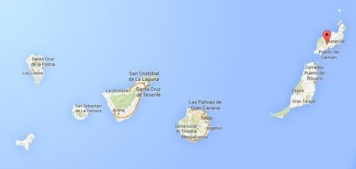 najvzhodnejši kanarski otok