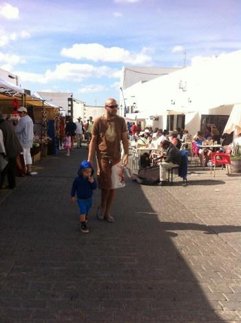 Nedeljski market v Tequisu