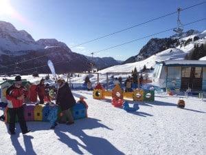 Snežni parki na smučiščih- Kids Paradise