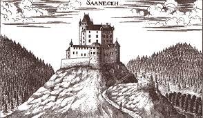 Grad Žovnek nekoč (vir: Wikipedia)