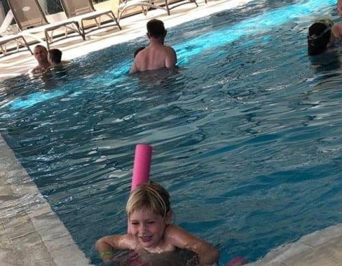 Notranji bazen, hotel Istra, crveni otok, Rovinj