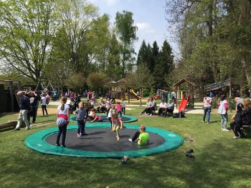 Za nas najbojše igrišče - trampolin, Arboretum, Volčji potok