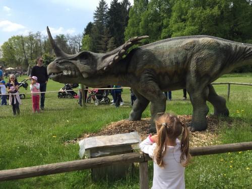 Mogočni triceratops v Arboretumu, Volčji potok