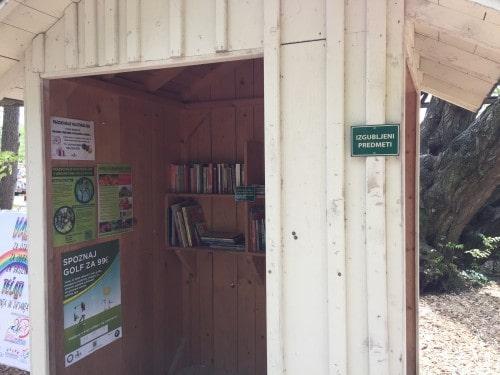 Prostor za izgubljene predmete, Arboretum, Volčji potok