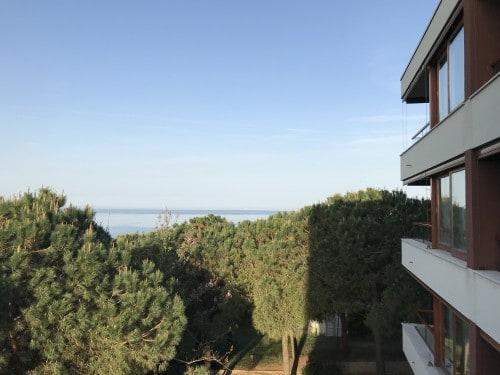 Čudovit razgled z balkona