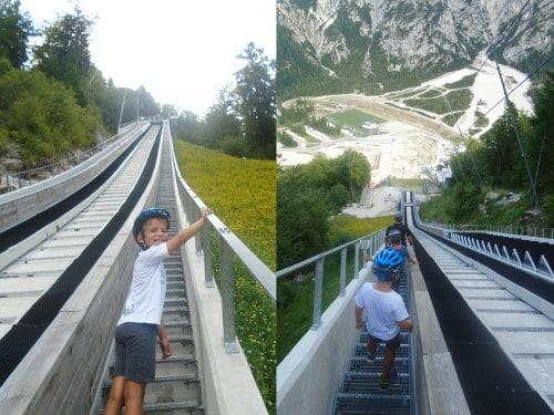 Planica: do vrha velikanke vodi 1192 stopnic