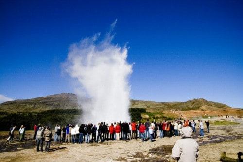 Znameniti gejzirji na Islandiji