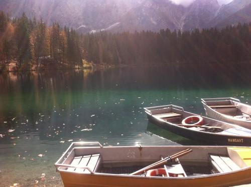 Čudovito jezero na italijanski strani (Belopeška jezera)