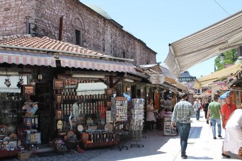 Obisk Baščaršije v Sarajevu, BiH