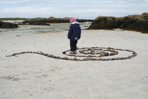 Peščene plaže na otoku Mull, Škotska