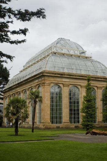 Rastlinjak v Kraljevem botaničnem vrtu v Edinburghu, Škotska