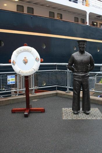 Ladja Britannia, Škotska