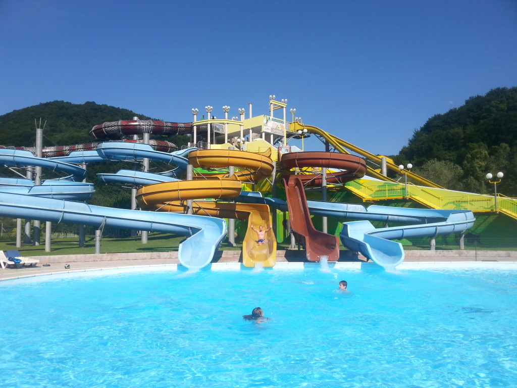 Park Aqualuna: pristajalni bazen