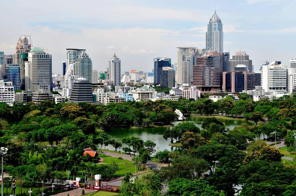 Park je zares velik in razgiban, zato lahko v njem preživiš cel dan (Bangkok, Tajska). Vir: forevergaming.co.uk