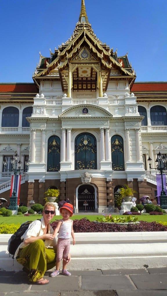 Pred Kraljevo palačo (Bangkok, Tajska)