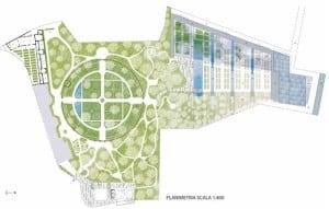 Mappa-Orto Botanico Padova-2015