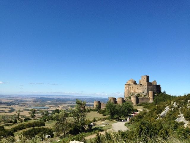 Grad Loarre, Huesco (Aragon, Španija)