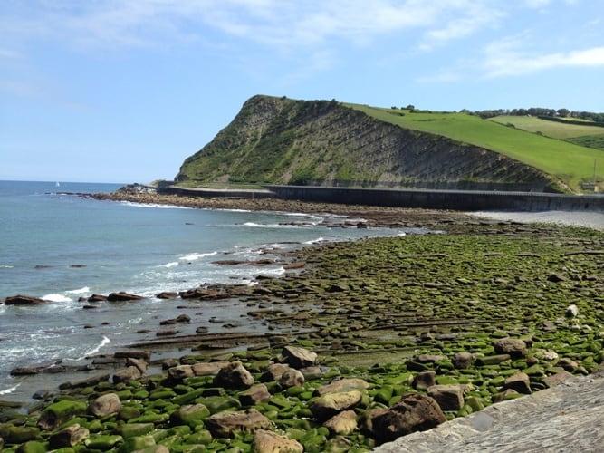 Cesta ob obali Baskije (Španija)