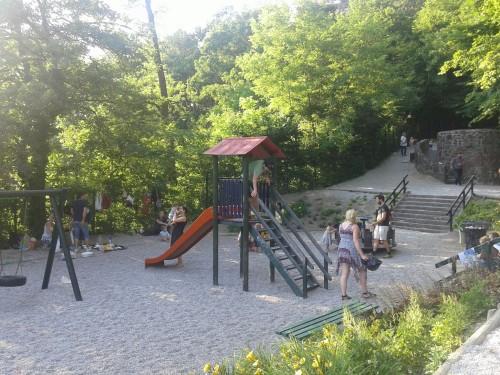 Senčno igrišče Osoje, Ljubljana