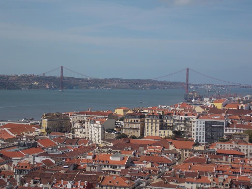 Razgled iz gradu (Lizbona, Portugalska)