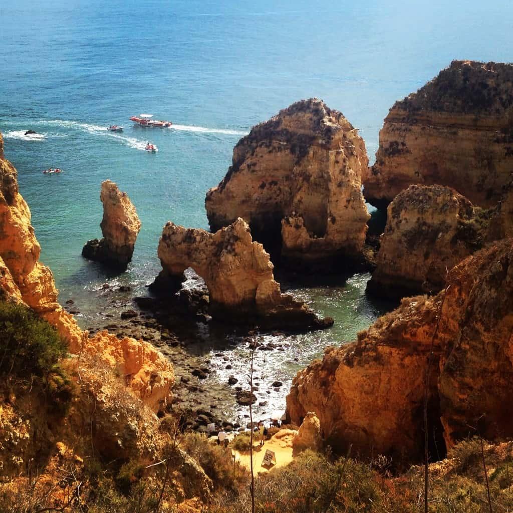 Ponta de Piedade, Algarve (Portugalska)