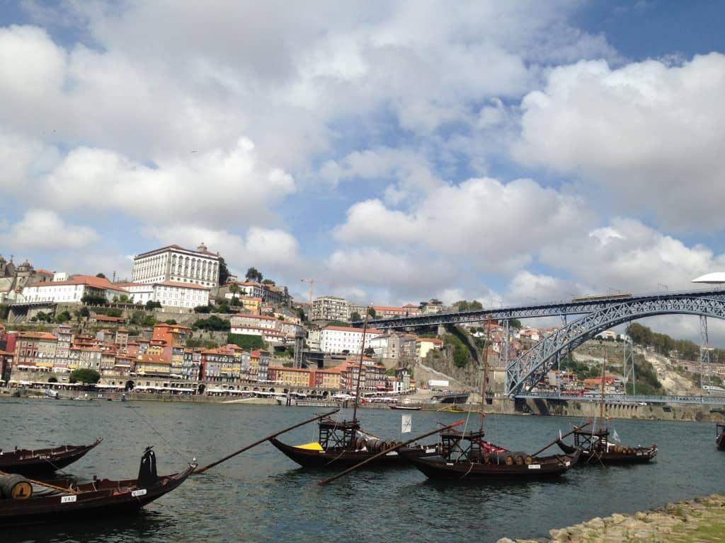 Ladjice za prevoz vinskih sodov, Porto (Portugalska)