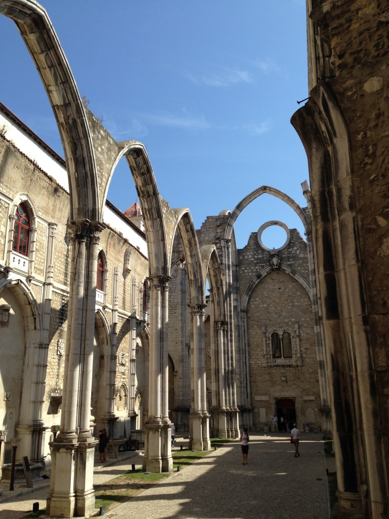Carmo Convent, Lizbona (Portugalska)