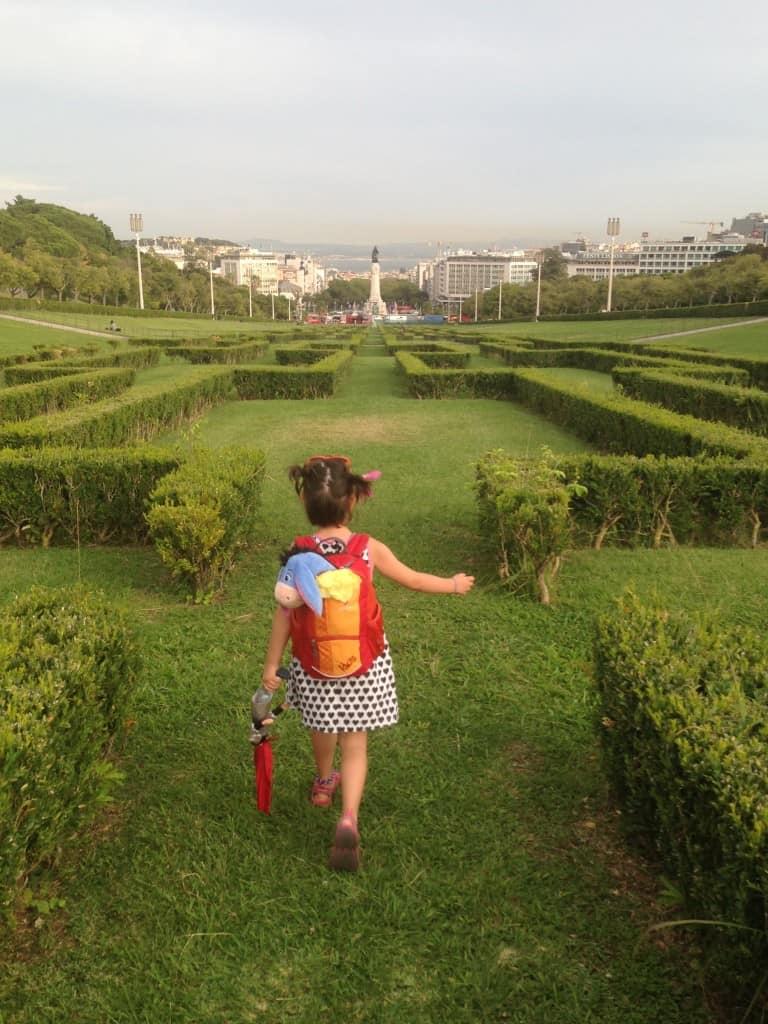 Park Eduardo VII., Lizbona (Portugalska)