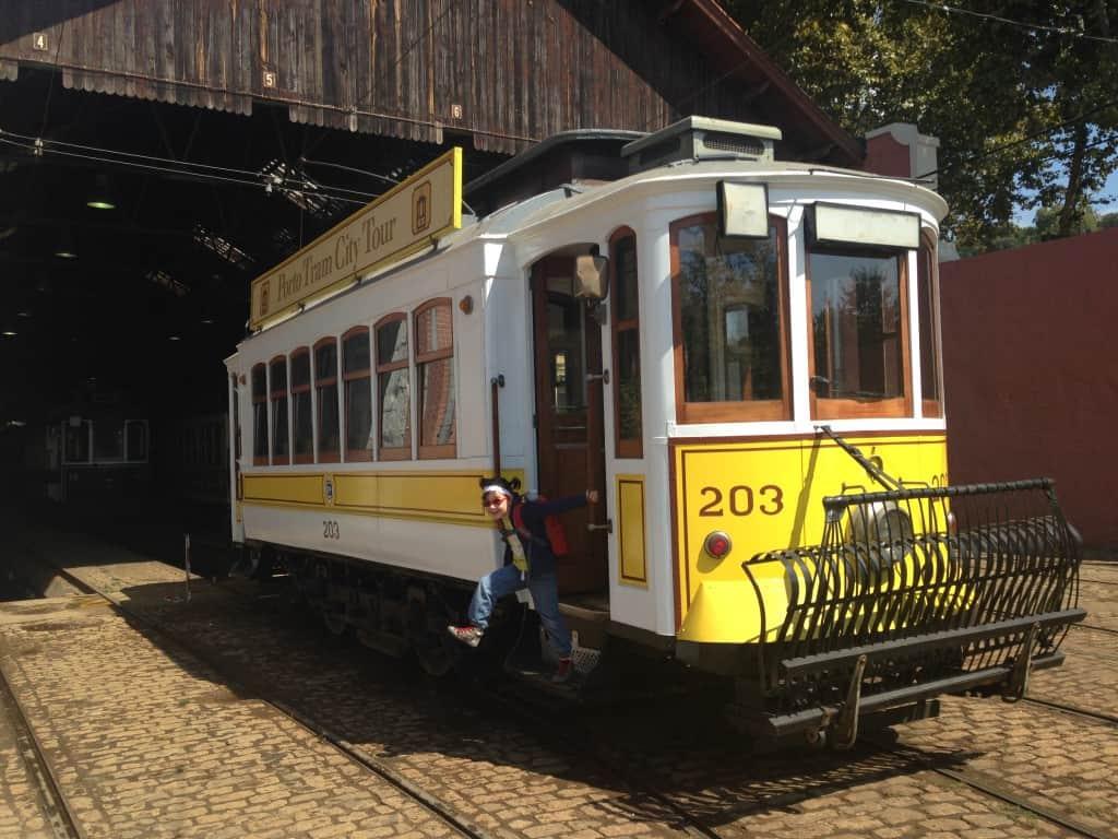 Muzej tramvajev, Porto (Portugalska)