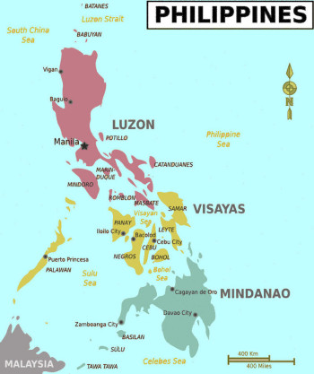 2. Filipini - Visayas regija