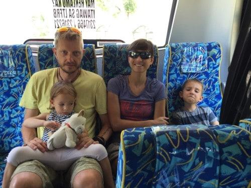 33. Avtobusna vožnja od Osloba do Cebu Citya