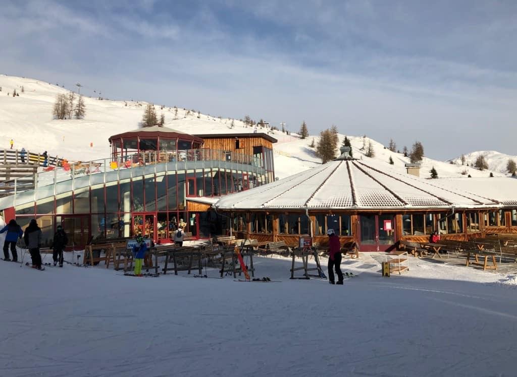 Panoramska restavracija Gadein (smučanje Sillian, Avstrija)