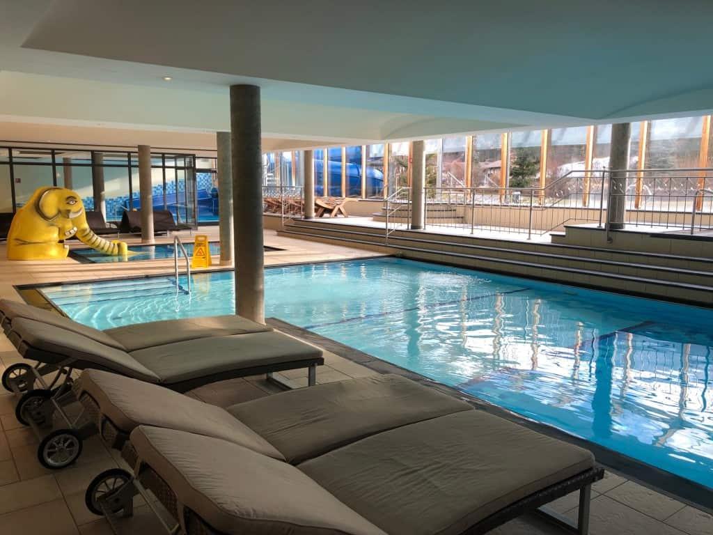 Dolomiten Residenz Sporthotel Sillian (notranji bazeni)