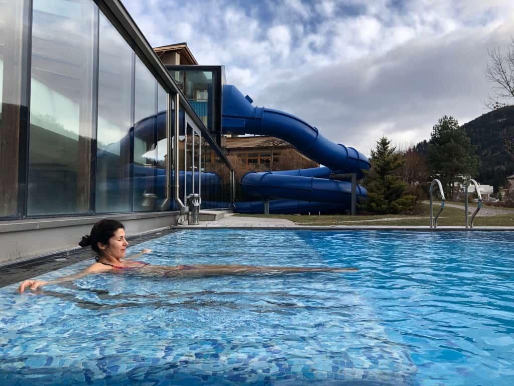 Dolomiten Residenz Sporthotel Sillian (zunanji panoramski bazen)