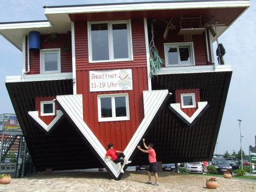 Po ogledu pa zaslužen počitek – kar na strehi, zakaj pa ne? (Bispingen, Nemčija)