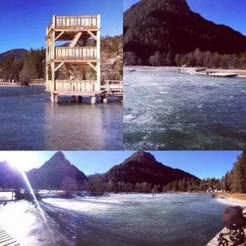 Jezero Jasna_drsanje