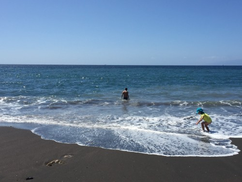 Zaradi Atlantika je voda kontantno malo hladnejša (otok Tenerife, Kanarsko otočje, Španija)