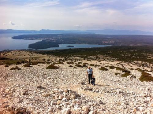 Razgled iz Velega vrha, Krk