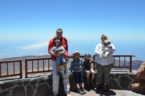 Razgledna točka na otoku Tenerife