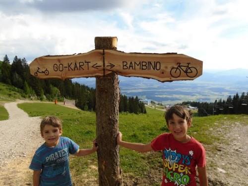 Poletni park Krvavec je primeren za otroke različnih starosti