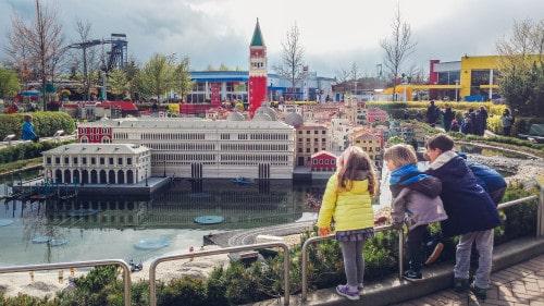 Mini benetke v Legolandu