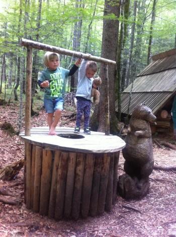 V Logarski dolini priporočamo obisk Pravljičnega gozda