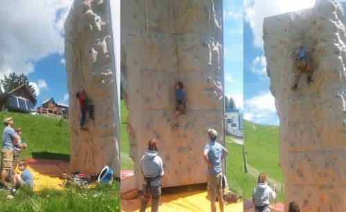 Plezanje po plezalnem stolpu