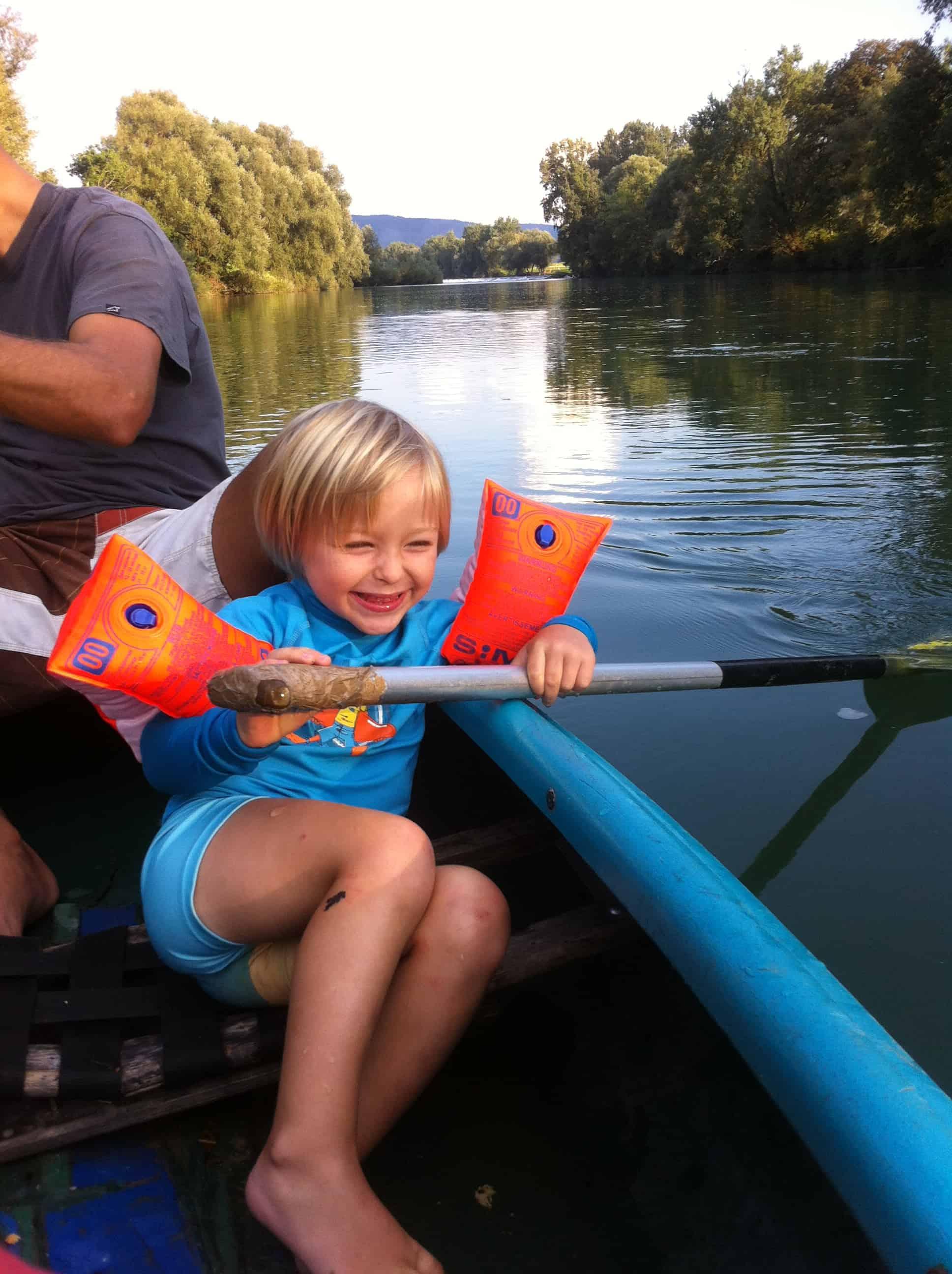 Veselje v kanuju