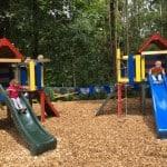 Pr' Fartku – kjer sredi gozda najdete otroško igrišče