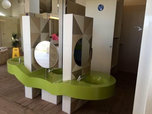 Otroške kopalnice prilagojene otrokom, Hrvaška